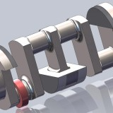 1919 Miller Crankshaft CAD